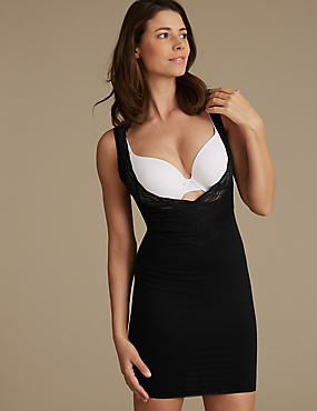 Firm Control Smoothlines™ Full Slip, BLACK, catlanding