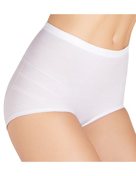 Firm Control Slimvisible™ High Leg Knickers with Magicwear™ Technology