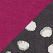 2 Pack Cotton Rich Lace Trim High Leg Knickers, GUNMETAL, swatch