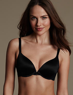 Perfect Fit Memory Foam Padded Push-Up Bra AA-E