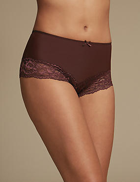 2 Pack Light Control Brazilian Knickers