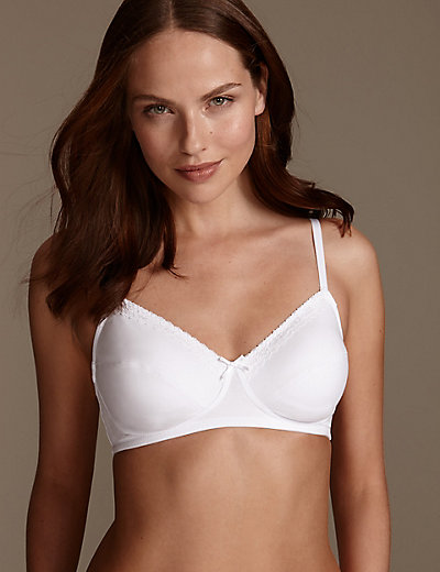 2 Pack Lace Non Padded Full Cup Bras A Dd M Amp S