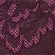 Firm Control Floral Lace Full Briefs, BLACKCURRANT, swatch