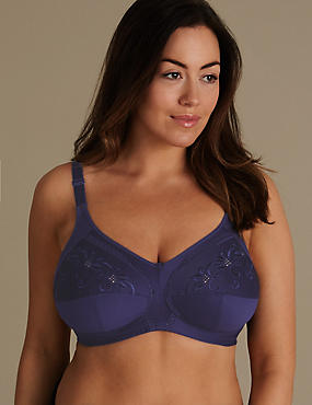 Total Support Embroidered Set with Full Cup B-G