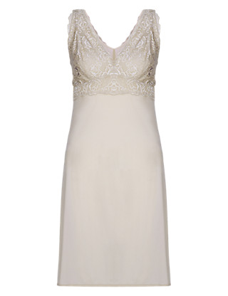 Lace Full Slip with Cool Comfort™ Technology Clothing