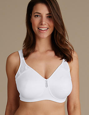 Total Support Non Padded Full Cup Bra B-G
