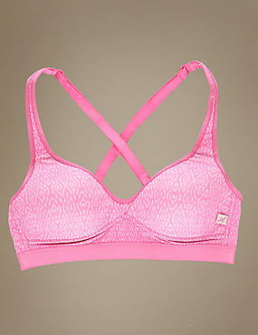 Non-Wired Full Cup Sports Bra
