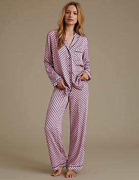 Long Sleeve Mosaic Pyjama