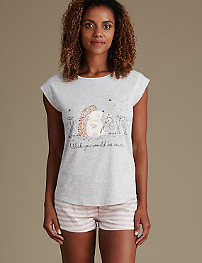 Cotton Rich Hedgehog Pyjamas