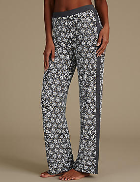 Floral Print Straight Leg Pyjama Bottoms