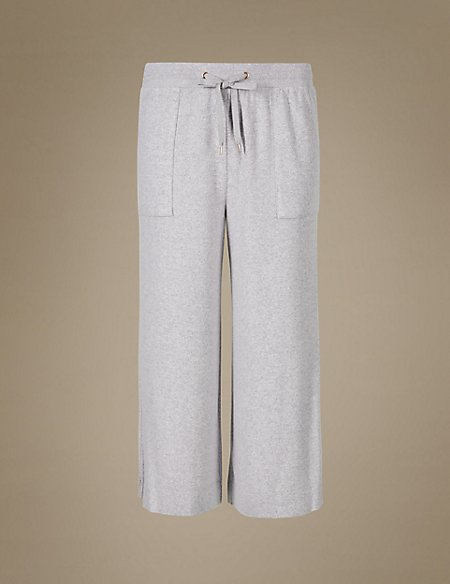 Cropped Pyjama Bottoms