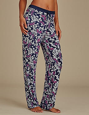 Butterfly Print Long Pyjama bottoms