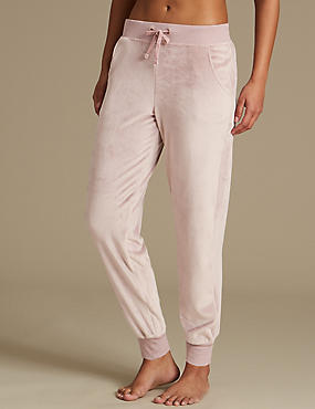 Fleece Cuffed Hem Pyjama Bottoms