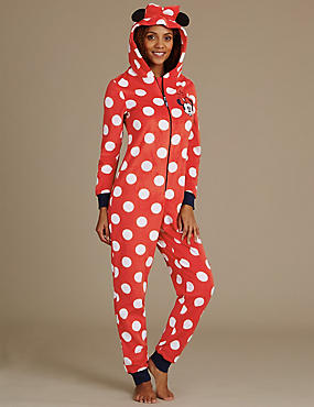 Minnie Mouse Hooded Onesie