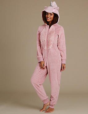 Long Sleeve Unicorn Onesie