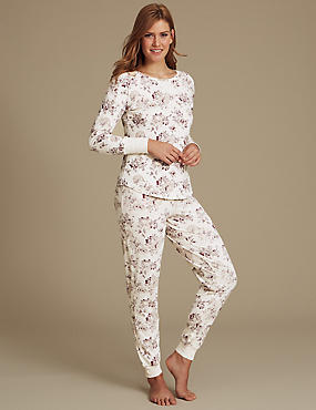 Cotton Rich Floral Print Pyjamas