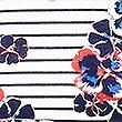 Floral Print Short Sleeve Pyjama Set  , NAVY MIX, swatch