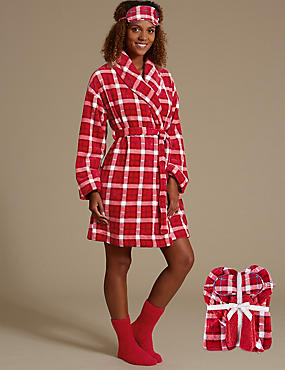 Long Sleeve Dressing Gown Set