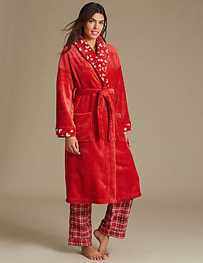 Dressing Gown with Pyjama Set
