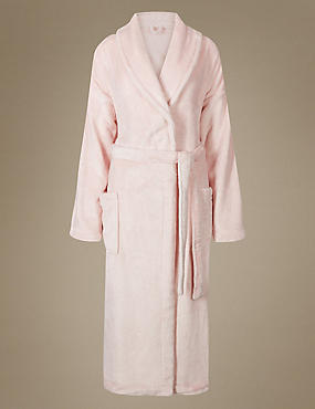 Shimmersoft™ Fleece Sparkle Dressing Gown