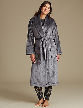 Fleece Sparkle Shimmer Dressing Gown