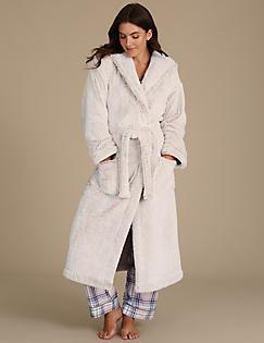 Ladies Dressing Gowns | Silk & Cotton Floral Kimonos | M&S IE