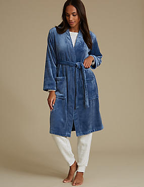 Womens Dressing Gown | Luxury Silk & Towelling Dressing Gowns | M&S