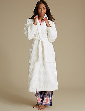 Shimmersoft™ Textured Dressing Gown