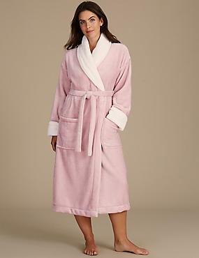 Shawl Collar Dressing Gown