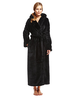 Hooded Shimmer Soft™ Dressing Gown Clothing