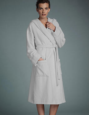 Luxury Hooded Belted Towelling Dressing Gown