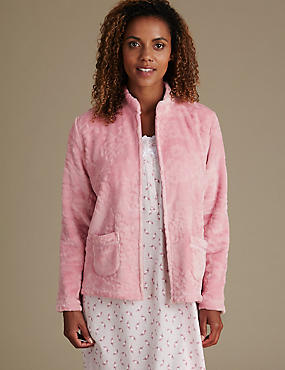 Long Sleeve Bed Jacket