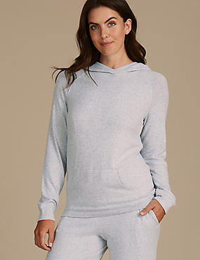 Hooded Long Sleeve Pyjama Top