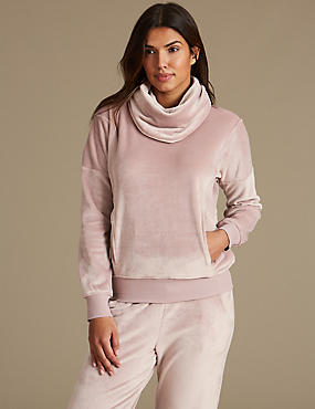 Fleece Long Sleeve Pyjama Top