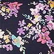 Floral Print Short Sleeve Pyjama Top , NAVY MIX, swatch