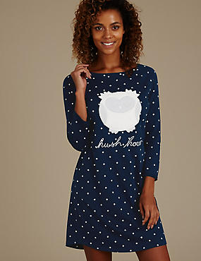 Owl Sleep Nightdress