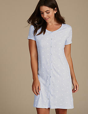 Modal Blend Printed Nightdress with Cool Comfort™ Technology