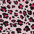 Animal Print Short Sleeve Nightdress, PINK MIX, swatch
