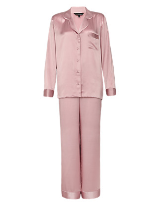 Rosie for Autograph Pure Silk Revere Pyjamas Clothing