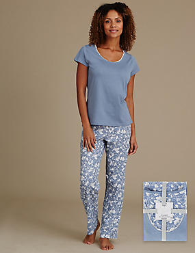 Pure Cotton Short Sleeve Pyjamas