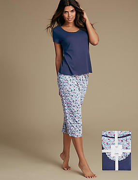 Pure Cotton Ditsy Print Pyjamas