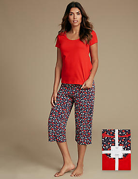 Pure Cotton Printed Pyjamas