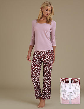 Pure Cotton Ditsy Floral Pyjamas