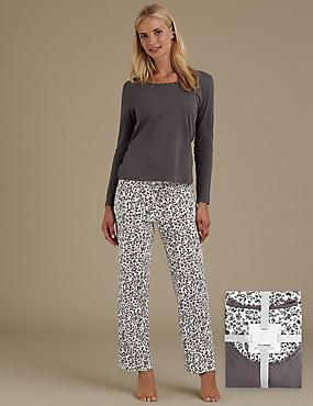 Pure Cotton Animal Print Pyjamas