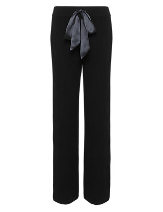Pure Cashmere Belted Pyjama Bottoms Clothing