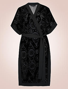 Short Sleeve Dressing Gown