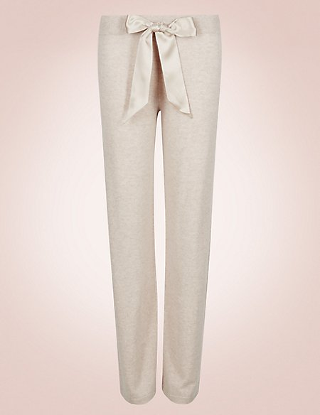 Pure Cashmere Long Pyjama Bottoms