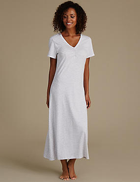 Striped Nightdress with Cool Comfort™ Technology