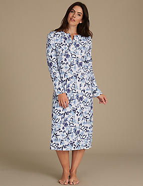 Pure Cotton Printed Nightdress