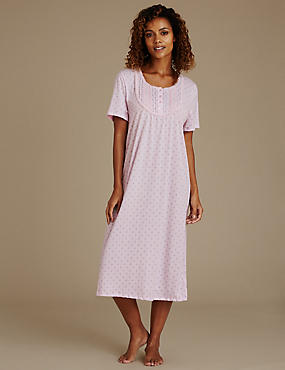 Slinky Jersey Long Nightdress